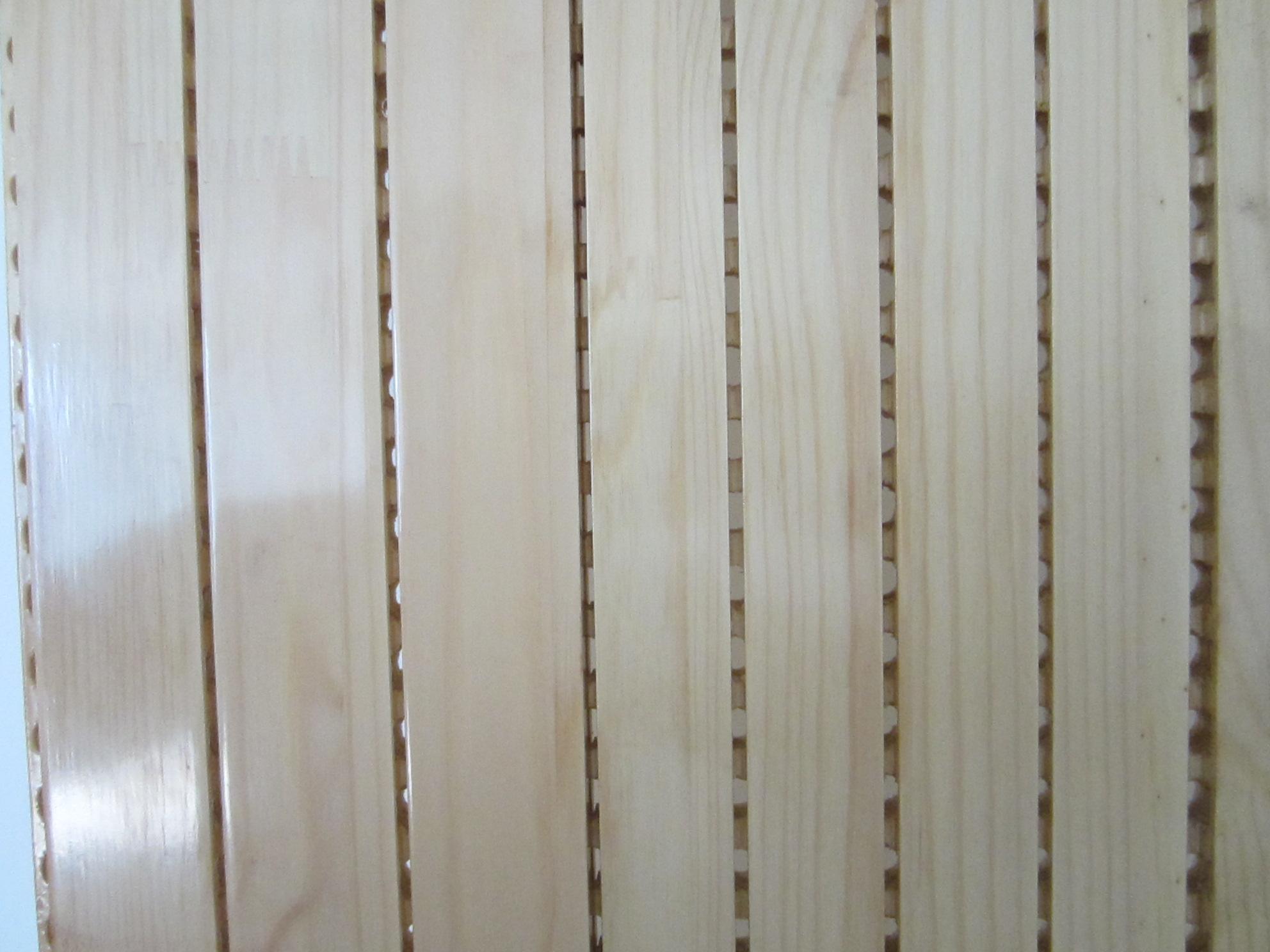 实木吸音板样品