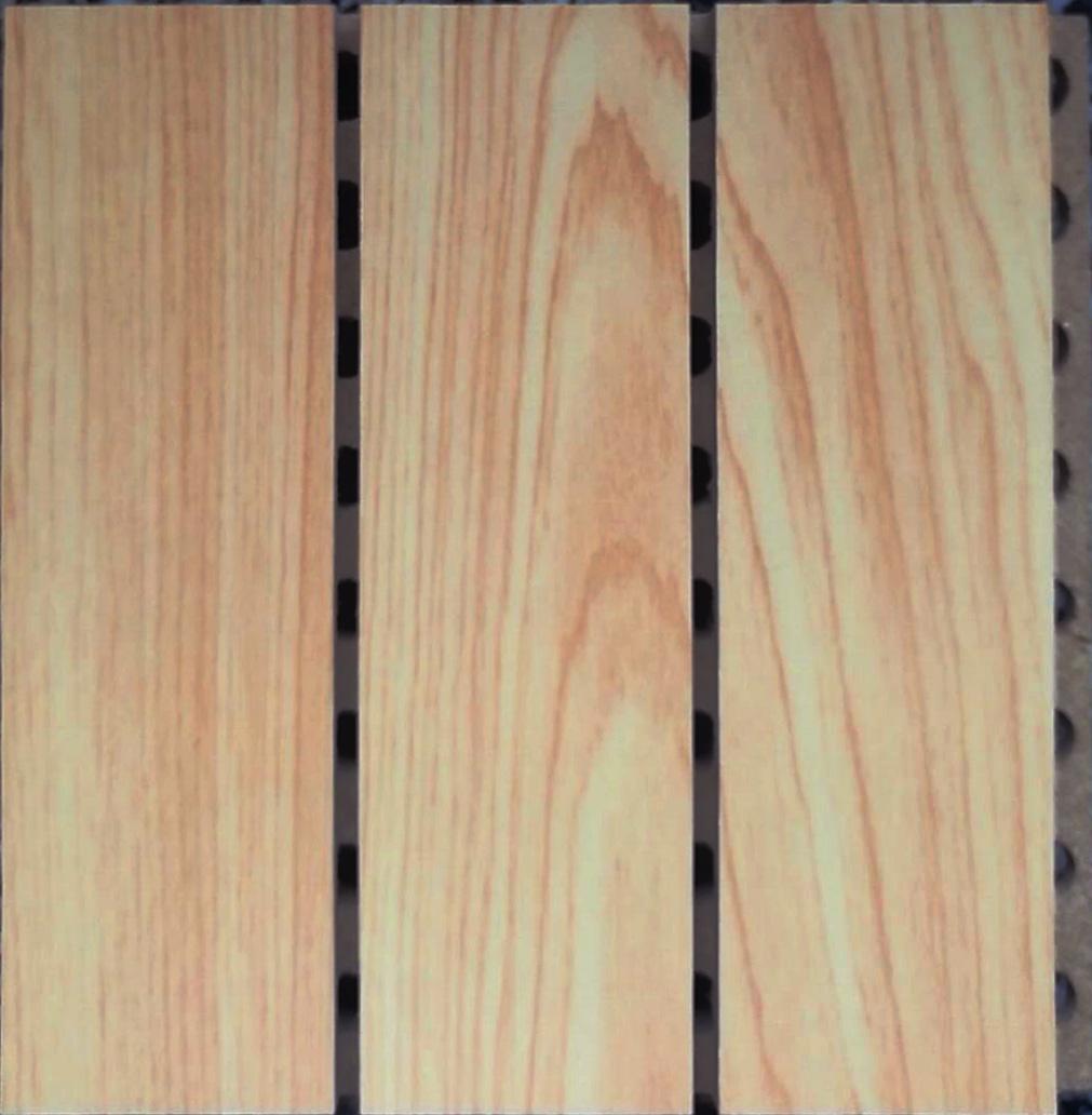 槽木吸音板构造和规格